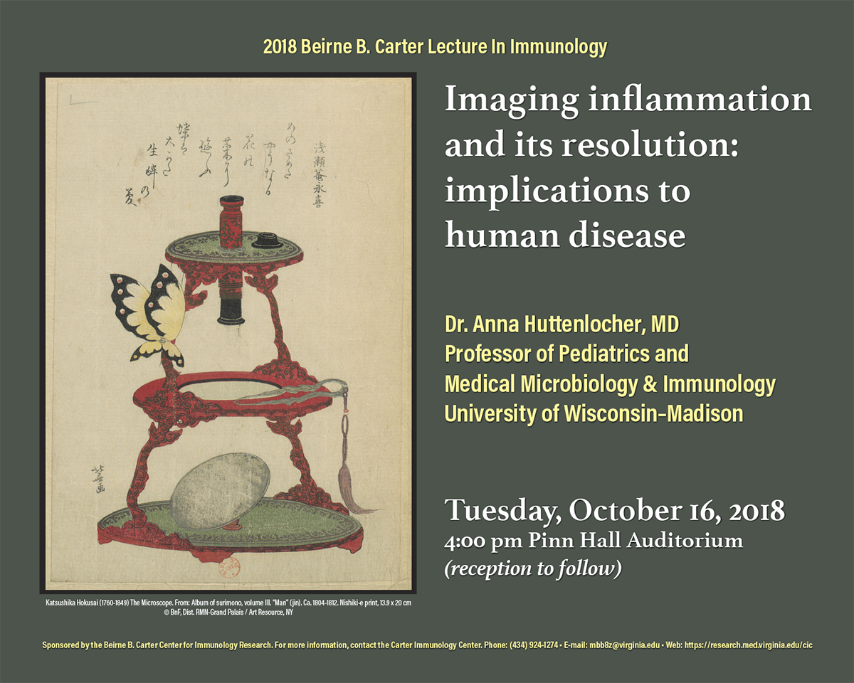 Beirne Carter Lecture 2018